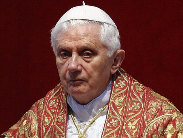 Image result for pope benedict angry